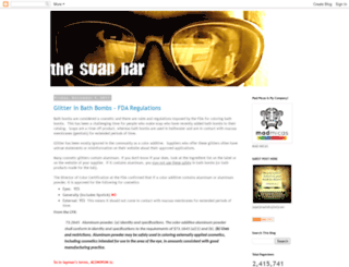 thesoapbar.blogspot.com screenshot