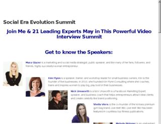 thesocialeraevolution.com screenshot