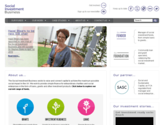 thesocialinvestmentbusiness.org screenshot