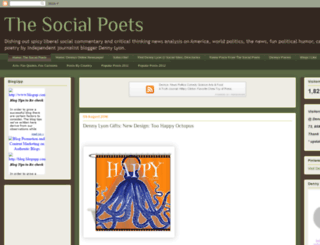 thesocialpoets.blogspot.com screenshot