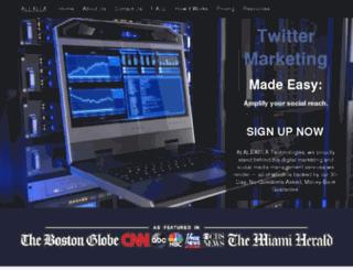 thesocialwebapp.com screenshot