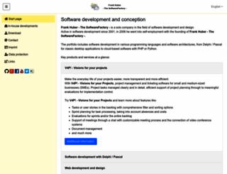 thesoftwarefactory.de screenshot