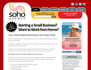 thesohoagency.com.au screenshot