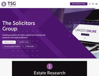 thesolicitorsgroup.co.uk screenshot