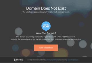 thesorcerer.x10host.com screenshot