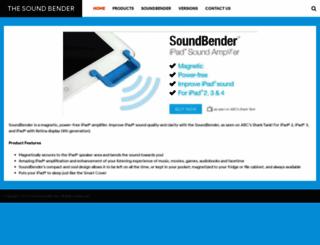 thesoundbender.com screenshot