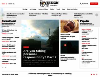 thesovereignstate.org screenshot