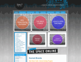 thespace.com.au screenshot