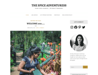 thespiceadventuress.com screenshot