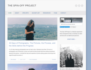 thespinoffproject.com screenshot