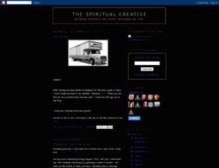 thespiritualcreative.blogspot.com screenshot