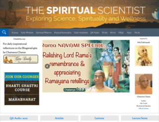 thespiritualscientist.com screenshot