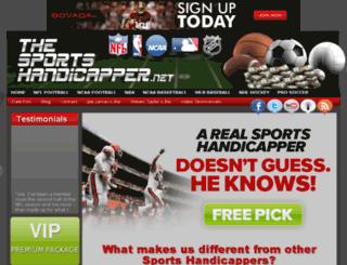 thesportshandicapper.net screenshot