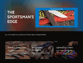 thesportsmansedge.com screenshot