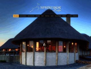 thespringboklodge.co.za screenshot