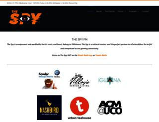 thespyfm.com screenshot