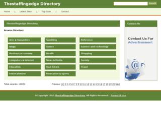 thestaffingedge.org screenshot