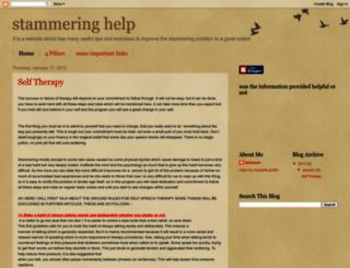 thestammeringhelp.blogspot.in screenshot