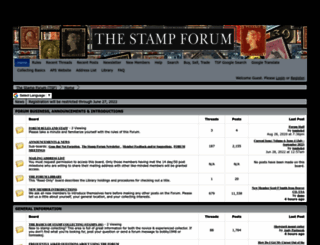 thestampforum.boards.net screenshot