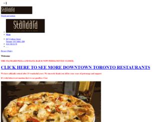 thestandardoncollege.com screenshot