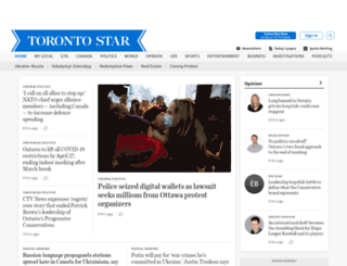 thestar.ca screenshot
