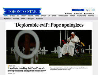thestar.com screenshot