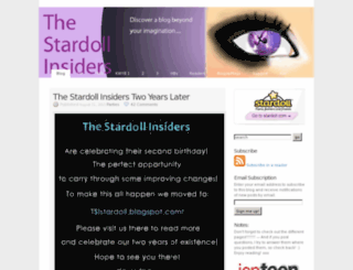 thestardollinsiders.wordpress.com screenshot
