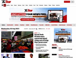 thestaronline.com screenshot