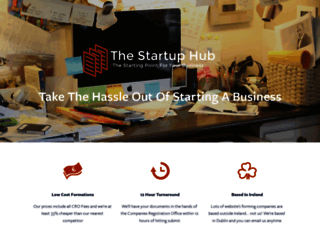thestartuphub.ie screenshot