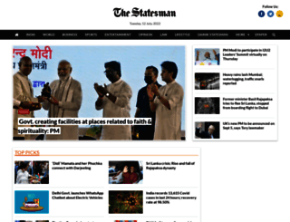 thestatesman.com screenshot