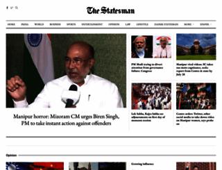 thestatesman.com screenshot