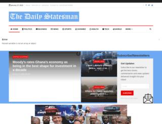 thestatesmanonline.com screenshot