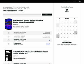 thestationdinner-theatre.ticketleap.com screenshot