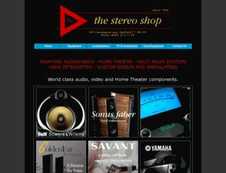 thestereoshop.com screenshot