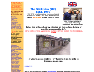 thestickman.co.uk screenshot