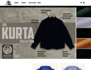 thestiffcollar.com screenshot