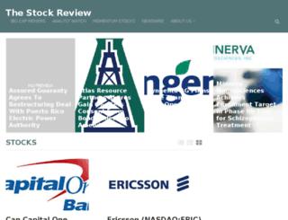 thestockreview.com screenshot