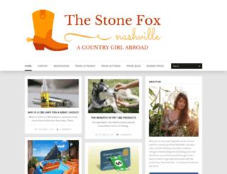 thestonefoxnashville.com screenshot