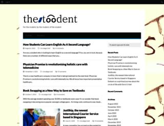 thestoodent.com screenshot