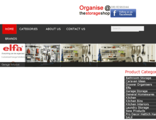thestorageshop.net.au screenshot
