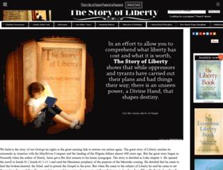 thestoryofliberty.intuitwebsites.com screenshot