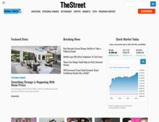 thestreet.com screenshot