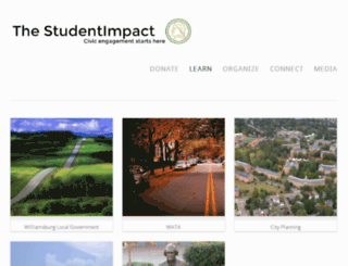 thestudentimpact.com screenshot