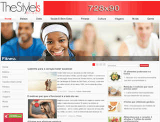 thestyleis.com screenshot
