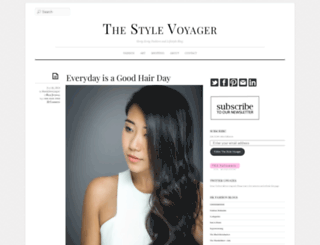 thestylevoyager.wordpress.com screenshot