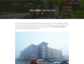 thesummitoncollege.com screenshot