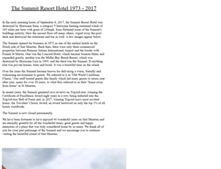 thesummitresort.com screenshot