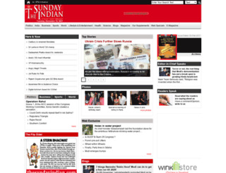 thesundayindian.com screenshot