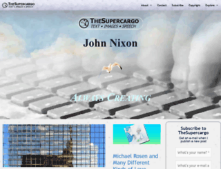thesupercargo.com screenshot