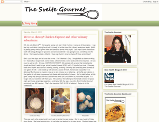 thesveltegourmet.blogspot.com screenshot
